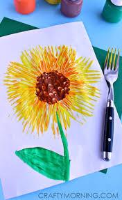 art and craft for kids best 25 sunflower crafts ideas on pinterest spring door wreaths