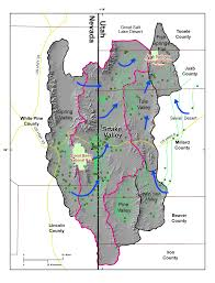 Map Of Nevada And Utah by Usgs Utah Water Science Center Rush Valley Hydrologic Assessment