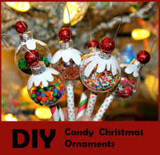 candy ornaments diy candy christmas ornaments the diy