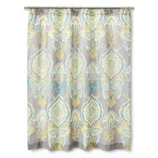 Green And Gray Shower Curtain Bahama Bali Gray Shower Curtain From Grey And Ivory Damask