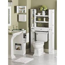 Over The Toilet Etagere Homz Country Over The Toilet Space Saver Etagere White Walmart Com