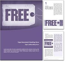 Word Document Templates Free www 123ppt word doc template concepts symbols