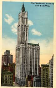 home insurance quote woolworths vintage postcard of woolworth building new york city a little