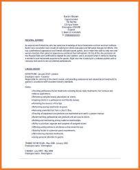 Aesthetician Resume Samples Esthetician Resume Examples Lukex Co