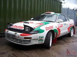 toyota celica gt for sale uk toyota celica gt4 turbo stage rally log booked carlos sainz replica