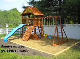Rainbow Play Systems Swing Set Installer Nj Cedar Summit Canyon Ridge Playset From