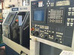 sale of lathe cnc used 2 axis autoteaching bar loading