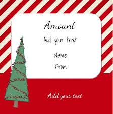 31 best christmas gift certificates images on pinterest free