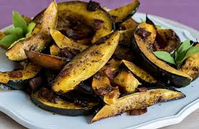 thanksgiving side dish roasted acorn squash recipe