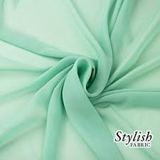 mint green color amazon com 58 mint green solid color sheer chiffon fabric by the