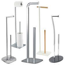 showerdrape free standing floor standing toilet roll holders