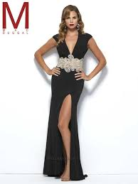 mac duggal black white red prom dresses pageant dresses