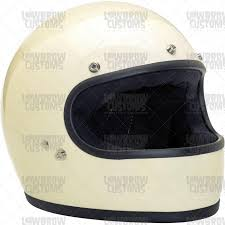 vintage motocross helmet biltwell gringo gloss vintage white full face dot approved helmet