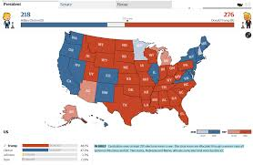 Electoral Votes Per State Map by Election Day Results Polls And Controversy Live Stream