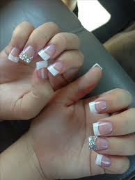 the 25 best french tip acrylic nails ideas on pinterest acrylic