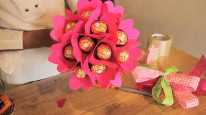 bouquet de chocolates san valentin pinterest cricut