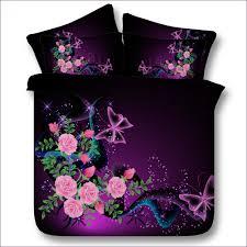 Purple Full Size Comforter Set Bedroom Plum Double Bedding Set Plum Colored Comforter Sets
