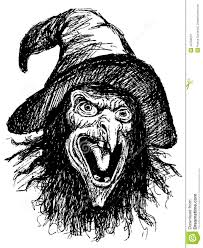 printable scary faces pictures gallery for u003e drawings of witches