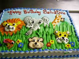 zoo themed birthday cake childrens birthday cake animal zoo birthday cakes pinterest