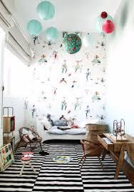 tapisserie chambre d enfant papier peint pour une chambre d enfant zalinka pour organiser