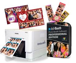 dslr photo booth dnp rx1hs printer dslrbooth pro photobooth software fotoclub inc