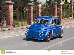 tuned cars tuned vintage car fiat 500 editorial photography image 35210677
