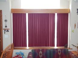 interior design glass window with vertical bali blinds on white
