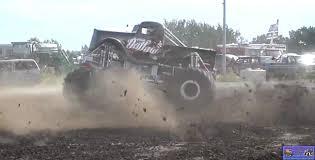 monster truck videos in mud monster truck photo album