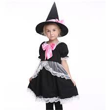 Halloween Witch Costumes Girls Cheap Black Witch Dress Kids Aliexpress Alibaba
