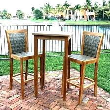 outdoor bar height table and chairs set bar height patio table and chairs childsafetyusa info
