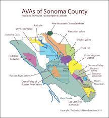 Napa Valley Winery Map Swe Wine Map 2015 U2013 Us California Sonoma County U2013 Updated April