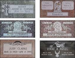 prices of headstones massey s casket showroom headstones markers memorials