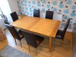 Marks And Spencer Dining Room Furniture Dining Table Marks Spencer Sonoma Extending 6 Leather Chairs