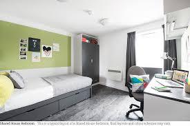 Student Bedroom Interior Design Crescent Place Southampton Student Accommodation Tshc