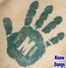 gang tattoos their meaning and the gangs who represent them