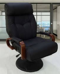 furniture modern recliner chair with leather material furnitures