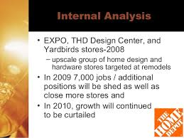 Home Depot Expo Design Store Home Depot Analysis