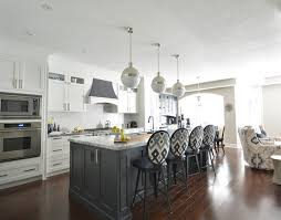 white kitchen with gray island transitional kitchen meredith