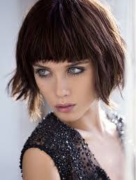 shaggy bob hairstyles 2015 shaggy bob haircuts with blunt bangs women medium haircut
