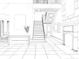 Interior Design Sketches Tsunami Sketch Room Interior Design Lrg Adeedbfe Surripui Net