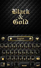 go keyboard theme apk black n gold go keyboard theme 3 5 apk android 2 1 eclair
