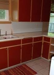 Red Mahogany Kitchen Cabinets Kitchen Cabinet Paint Color Advice Thriftyfun