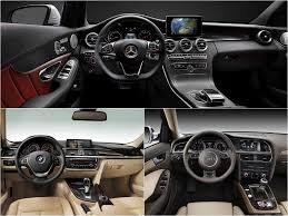 bmw 3 series or mercedes c class mercedes c class w205 vs bmw 3 series f30 vs audi a4 b8