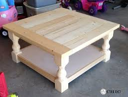Diy Large Square Coffee Table by Best 25 Square Coffee Tables Ideas On Pinterest Build A Coffee