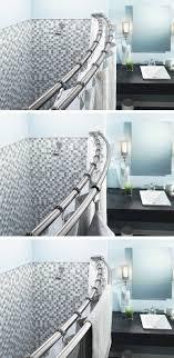 best 25 shower curtain rods ideas on shower curtain