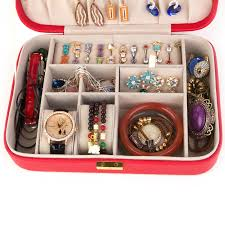 jewelry box necklace organizer images Leather jewellery box online shopping pakistan nail art in jpg