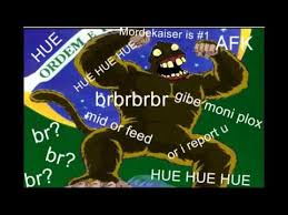 Hue Meme - huahuehuahue know your meme