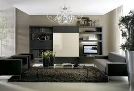 Living Room Black Sofa Grey Sofa Black Sofa Glass Coffee Table Rug And Chandelier