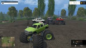 monster truck jam ford field monster truck for fs 15 farming simulator 2017 2015 15 17