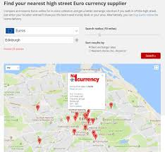 compare bureau de change exchange rates edinburgh airport currency exchange rates how to compare currency